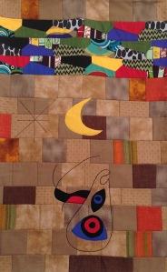Este es diseño propio, inspirado en sus murales y abstrayendo sus colores.